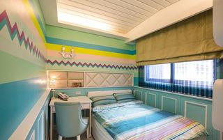清新甜美彩色美式儿童房装饰大全