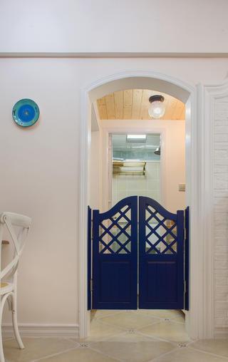 美式二居装修卫生间拱门设计图