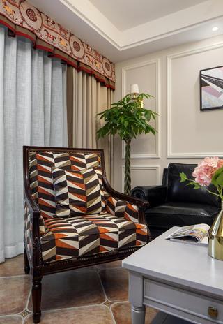 140平美式风格家单人椅图片