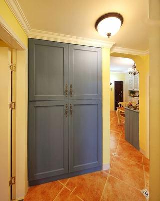 蓝色田园家装设计室内柜子效果图