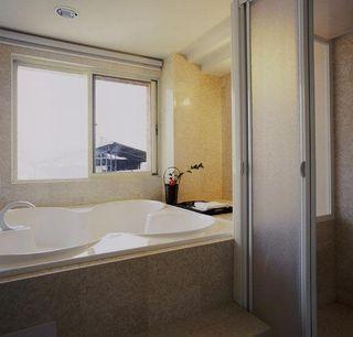 简欧田园风小浴室设计