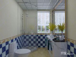 地中海风格两居卫生间装修效果图