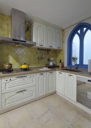 唯美地中海风格 家居厨房装修欣赏