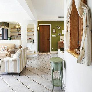 地中海风格四房110平米装修图片