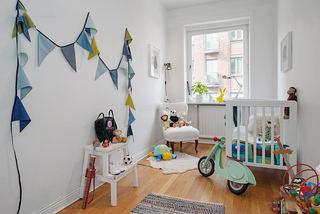 清爽地中海儿童房公寓图片