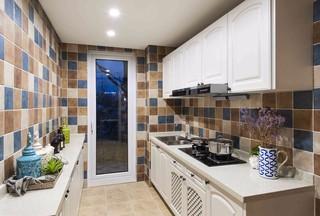 地中海风格三居厨房装修效果图