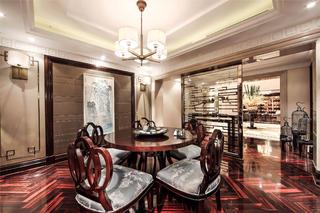 新古典别墅样板间装修茶室设计图