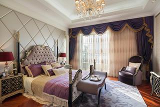 新古典主义别墅装修卧室搭配图