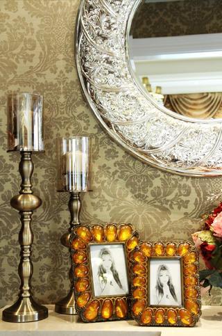 140㎡新古典三居装修饰品摆件特写