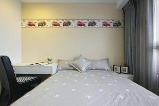新古典风格 儿童房花纹墙壁装饰图