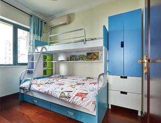 80平精装房改造儿童床图片