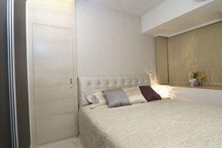 宜家风格卧室隐形门设计