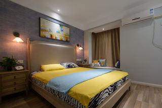精致文艺范北欧风情卧室背景墙设计欣赏