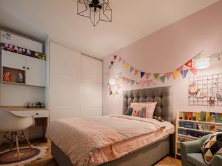 三居室北欧风格家儿童房设计图