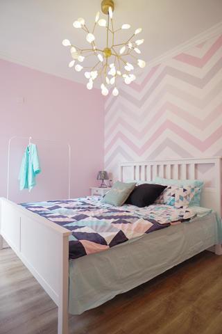 二居室北欧风之家卧室设计图