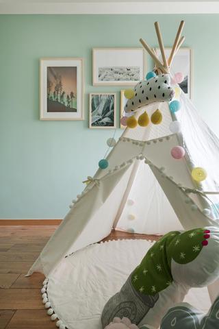 北欧三居装修儿童房图片