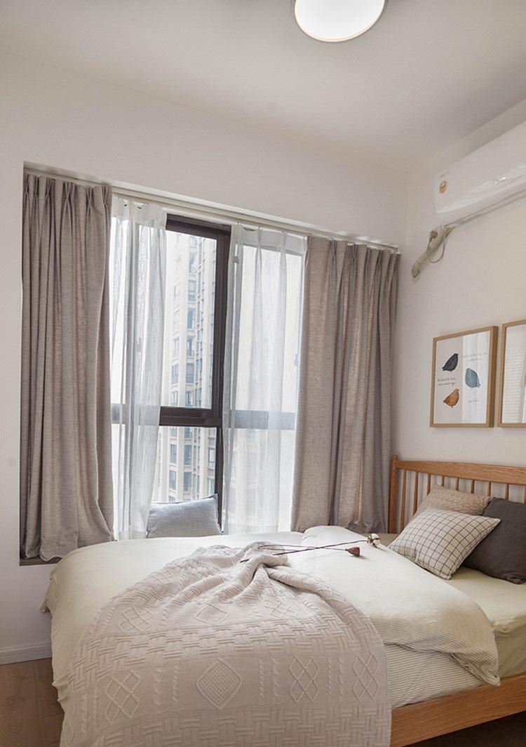北欧风格卧室飘窗装修效果图