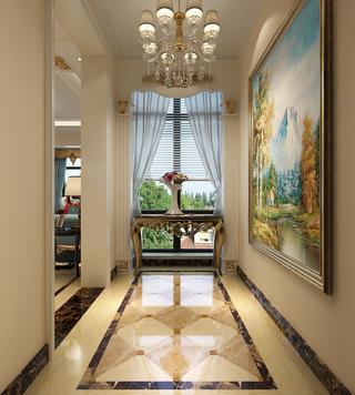 87平简欧风格家门厅欣赏图