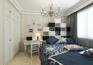 大户型简欧风格装修床头柜图片