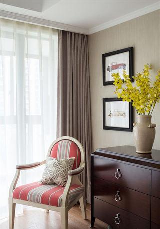 法式简欧风格家居单人椅装饰