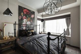 90平简欧风格设计卧室设计图