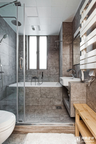 110㎡日式风格家卫生间装潢图