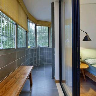 乡村日式三居之家阳台图片