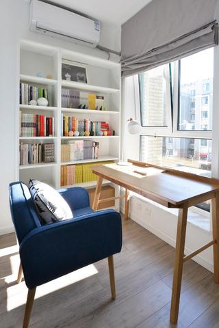 80平日式风格家书房搭配图