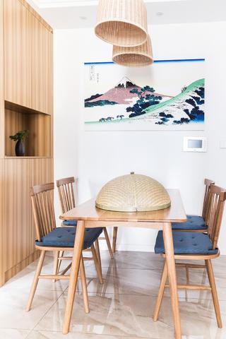 二居室日式风格家餐厅布置图