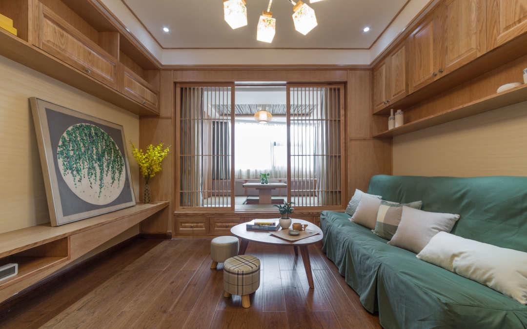 小户型日式风格客厅装修效果图