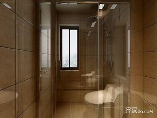 日式风格三居卫生间装修效果图