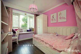 大户型美式风格四房女儿房装修效果图