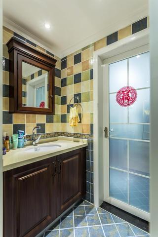 120平美式之家洗手台图片