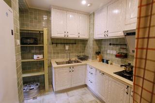 100平美式风格家厨房构造图