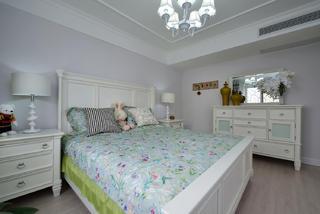 复式美式风格装修卧室设计图