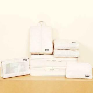 白色收纳袋设计图