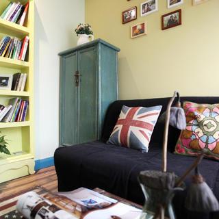 85平地中海风格家书房布置图
