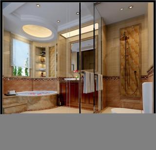 大户型豪华欧式卫生间装修效果图