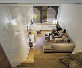 创意宜家小复式客厅设计