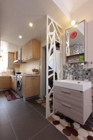 宜家小户型进门厨房设计