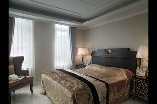 低奢古典简欧卧室效果图