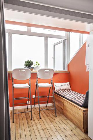 Loft小复式装修阳台设计图