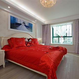 两居室简约之家卧室装修效果图