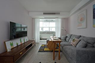 北欧风格小户型客厅装修效果图