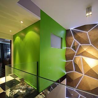 130平Loft装修墙面设计