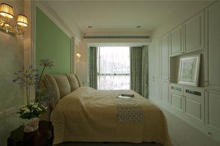 浪漫简欧复式卧室装修欣赏