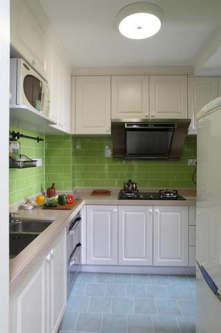 小清新果绿宜家厨房装修设计效果图