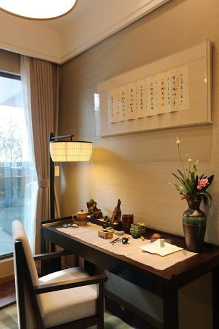 108平中式风之家书桌图片