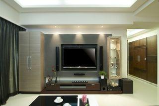 时尚现代风 电视背景墙装饰设计