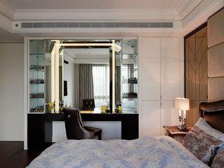 现代时尚家装卧室梳妆台设计
